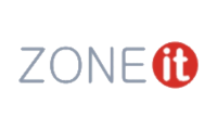 Logo zone it transparent simple