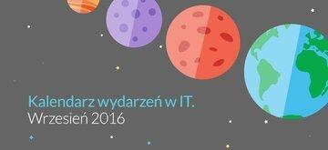 Kalendarz wydarzeń IT - Wrzesień