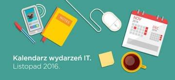 Kalendarz wydarzeń IT - Listopad