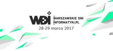 Warszawskie Dni Informatyki 2017