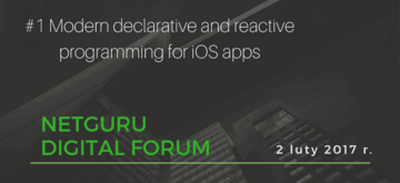 #01: Modern declarative and reactive programming for iOS apps