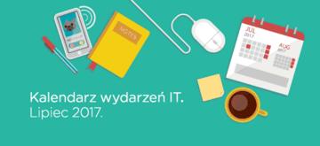 Kalendarz wydarzeń IT - Lipiec 2017.