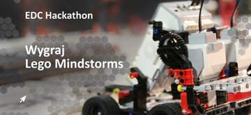 EDC Industrial IoT Hackathon is coming on October 13th. Sign up and win Lego Mindstorms!
