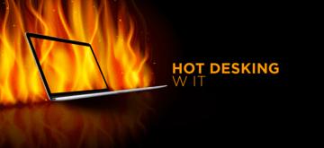Hot desking w IT - zalety i wady