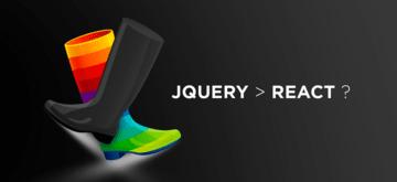 jQuery jest lepszy niż React