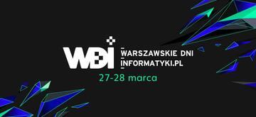 Warszawskie Dni Informatyki 2018