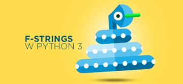 Python 3: Poznaj f-strings