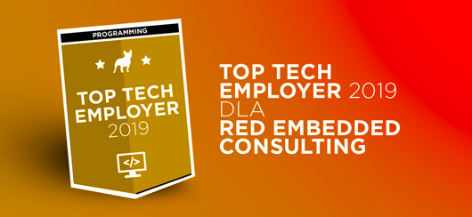 Red Embedded Consulting z tytułem Top Tech Employer 2019