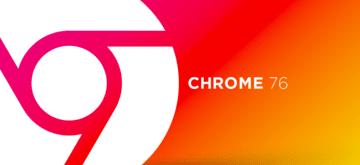 Google Chrome w wersji 76