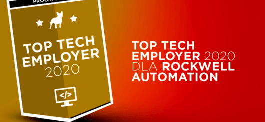 Rockwell Automation z tytułem Top Tech Employer 2020