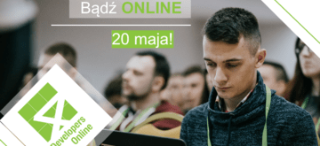 Nadchodzi 4Developers Online 2020