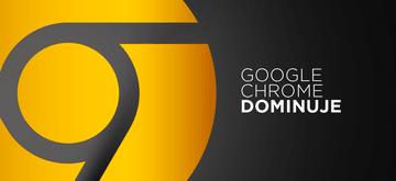 Dane pokazują, że Google Chrome zdominował internet