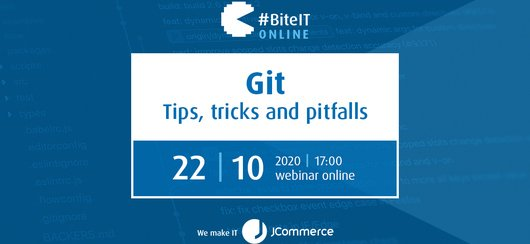 BiteIT #62: Git – tips, tricks and pitfalls