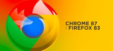 Nowości w Chrome 87 i Firefox 83