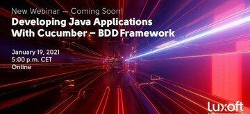 Webinar: Developing Java Applications with Cucumber - BDD framework