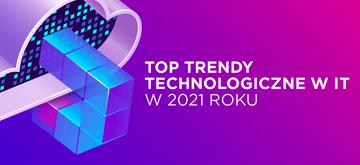 Top trendy technologiczne w IT w 2021 roku