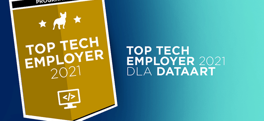 DataArt z tytułem Top Tech Employer 2021