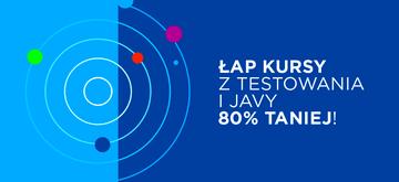 Kursy dla QA Testera i Junior Java Developera z 80%-owym dofinansowaniem%!