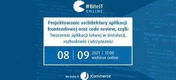 BiteIT #70: Projektowanie architektury aplikacji frontendowej oraz code review