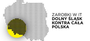 Zarobki w IT - Dolny Śląsk kontra cała Polska