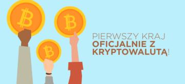 Pierwszy kraj wprowadza Bitcoina jako oficjalną walutę