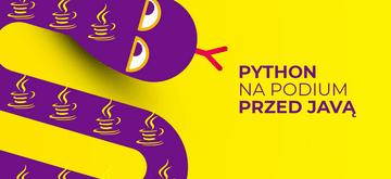 Python ponownie przed Javą na podium listy TIOBE