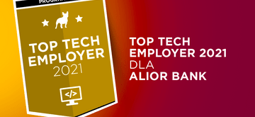 Alior Bank z tytułem Top Tech Employer 2021